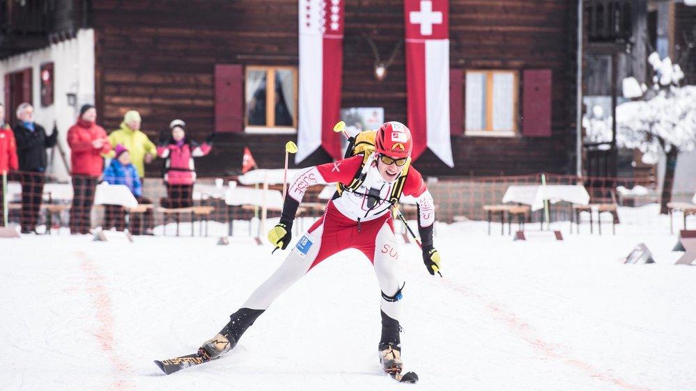 Iwan Arnold et ses compères valaisans de l'équipe suisse de ski-alpinisme reprennent espoir.