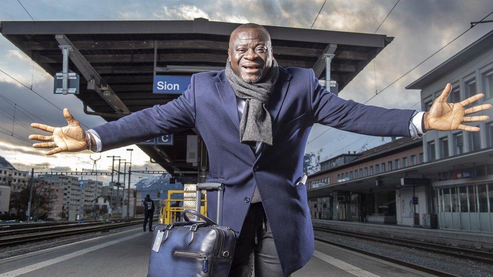 Football: le plus Valaisan des Ivoiriens, le légendaire Ahmed Ouattara, est de retour à Tourbillon