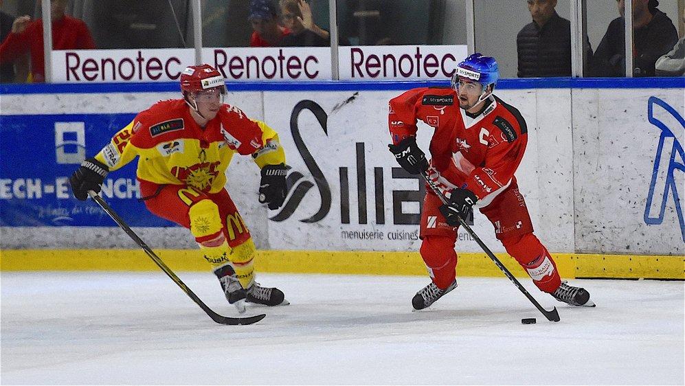 Victor Bonny et Jérémy Gailland étaient coéquipiers à Sierre, la saison passée.