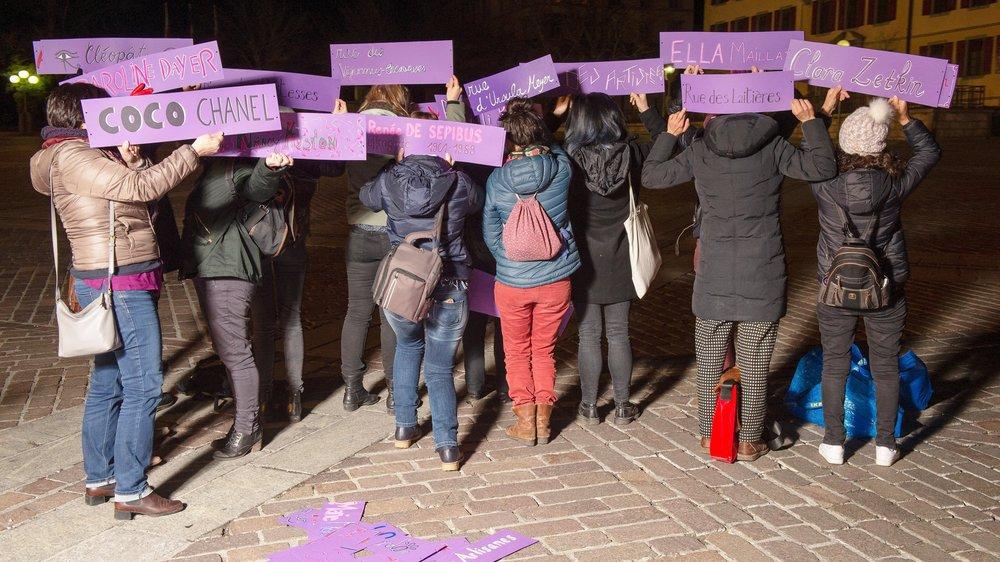 Les féministes du Collectif Femmes Valais gardent l'anonymat. Nous préférons mettre en avant l'action plutôt que celles qui la mènent», expliquent-elles.
