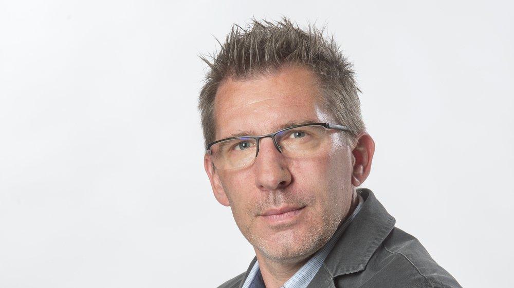 Bertrand Crittin, responsable de l'Actu au «Nouvelliste».