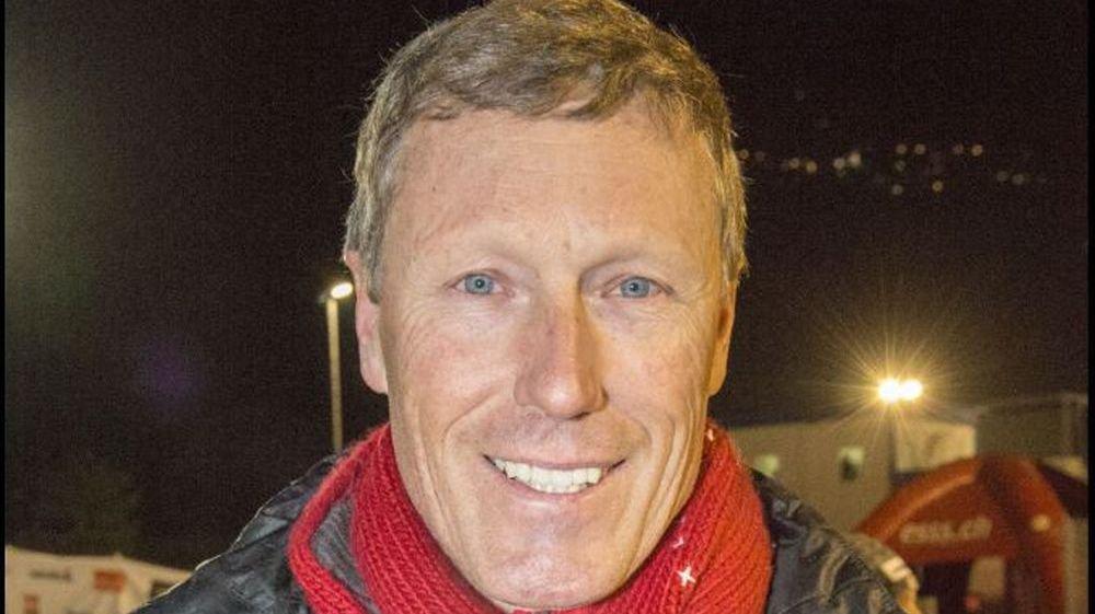 Pirmin Zurbriggen, ancien champion du monde de ski.