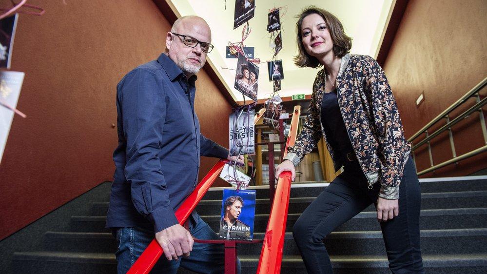 Vendredi soir, au cinéma du Bourg de Sierre, Denis Rabaglia et Malika Pellicioli avaient rendez-vous avec le public pour présenter le film respectif.