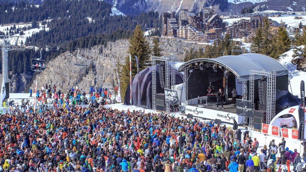 Le festival attire chaque année une foule de skieurs mélomanes aux Portes du Soleil.