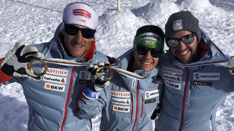 La Suisse est championne du monde de télémark par équipes