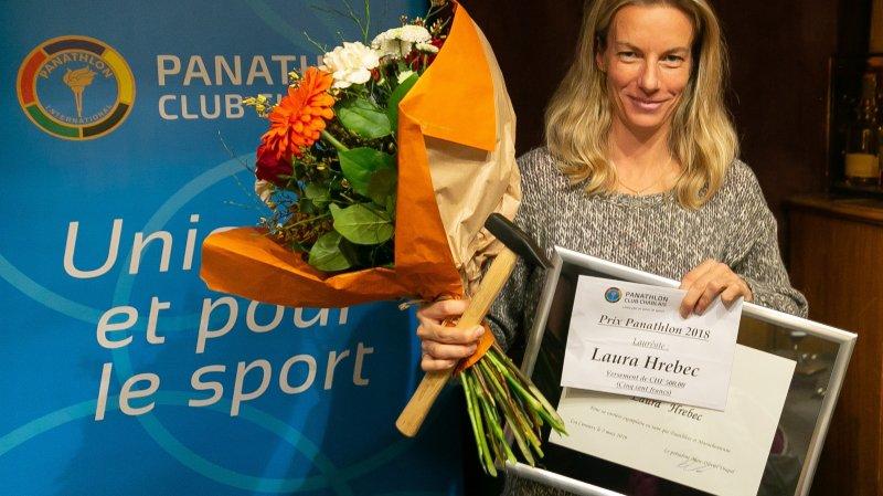 Chablais: Laura Hrebec honorée par le Panathlon club