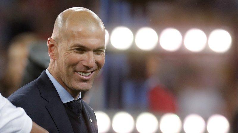 """Zinedine Zidane est de retour dans """"son"""" fief."""