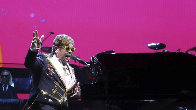 Montreux Jazz Festival: Elton John jouera en open air dans un stade de 15 000 places