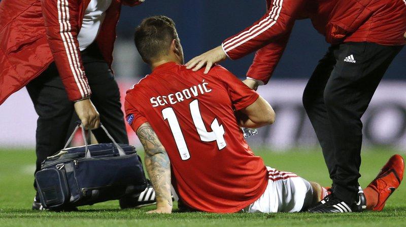 Football - Europa League: Haris Seferovic se blesse, Granit Xhaka s'incline