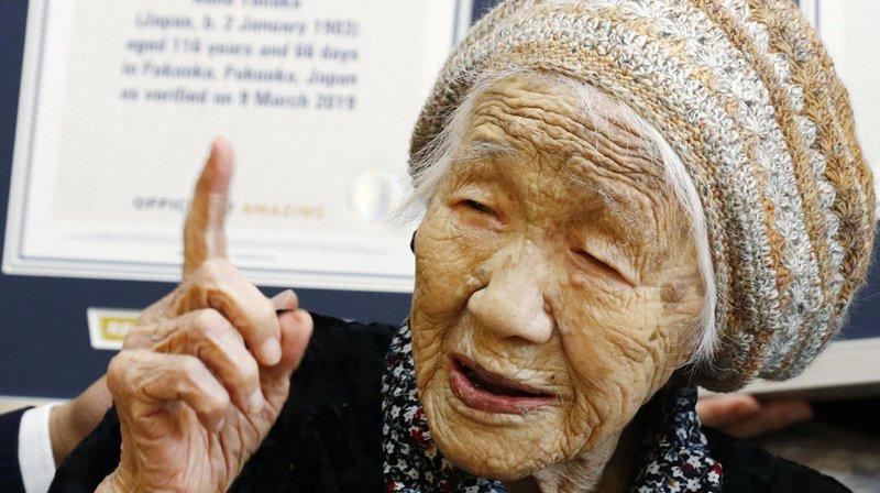 Kane Tanaka une Japonaise de 116 ans, confirmée comme la doyenne de l'humanité