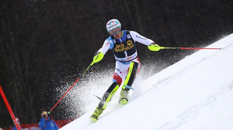 Ski alpin: Daniel Yule 4e après la première manche du slalom de Kranjska Gora