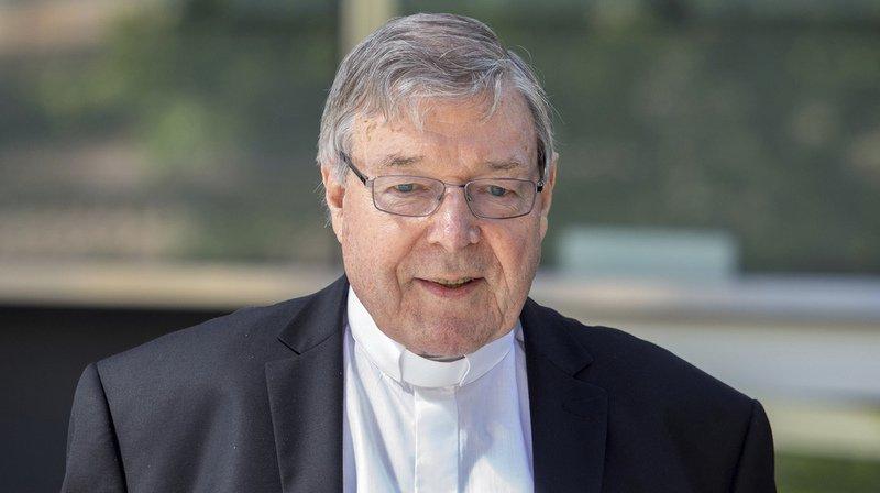 Pédophilie: le cardinal Pell condamné à six ans de prison en Australie