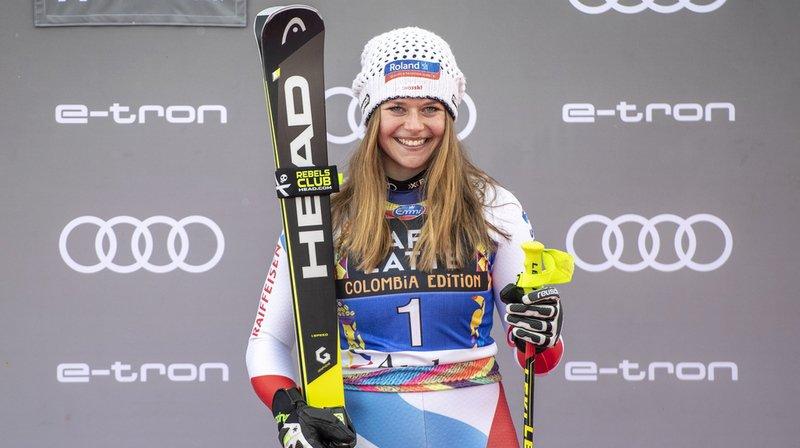 Ski alpin: Corinne Suter réussit le doublé en vitesse aux Championnats de Suisse