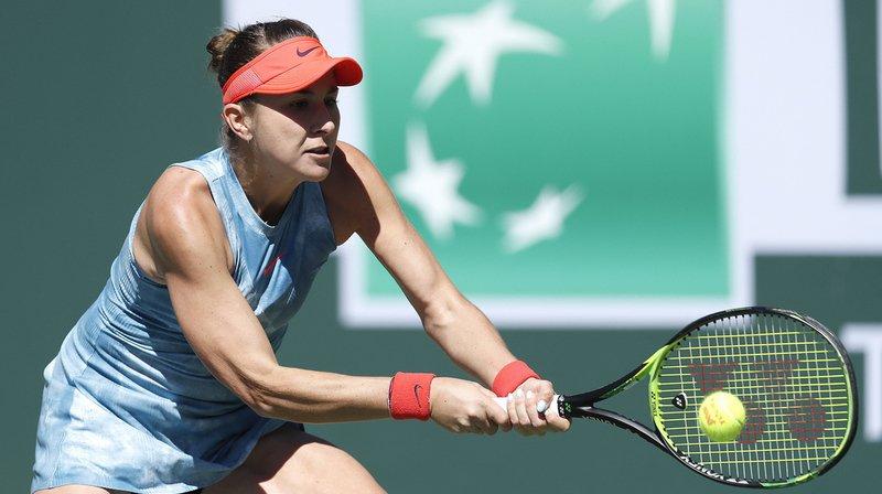 Tennis – Indian Wells: Belinda Bencic affrontera l'Allemande Angelique Kerber en demi-finale