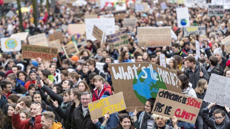 La grève des étudiants suisses pour le climat en 5 questions
