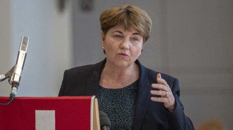La ministre de la défense Viola Amherd est en faveur d'une égalité des sexes au sein de l'armée.