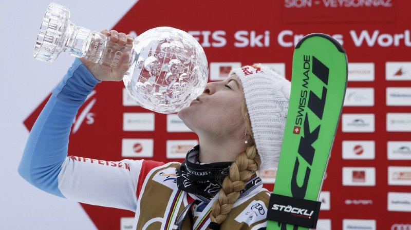 Skicross: Fanny Smith s'adjuge le Globe de cristal du général