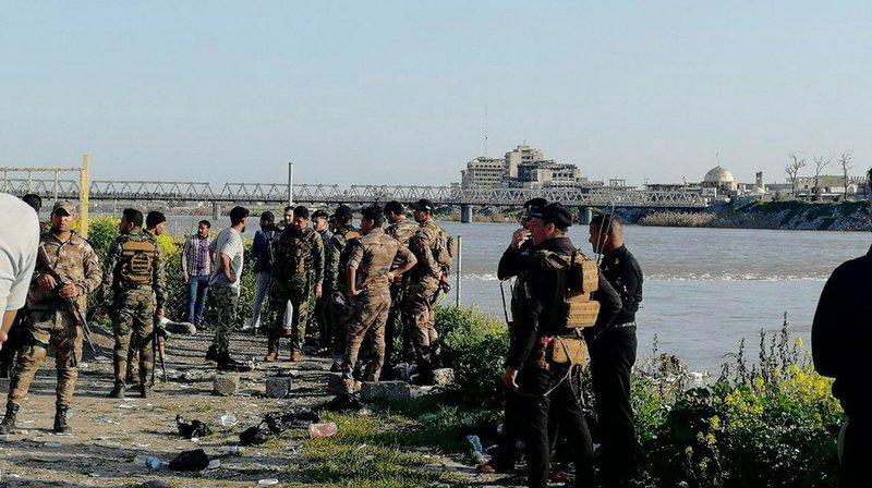 Irak: au moins 94 morts dans un naufrage sur le fleuve Tigre à Mossoul