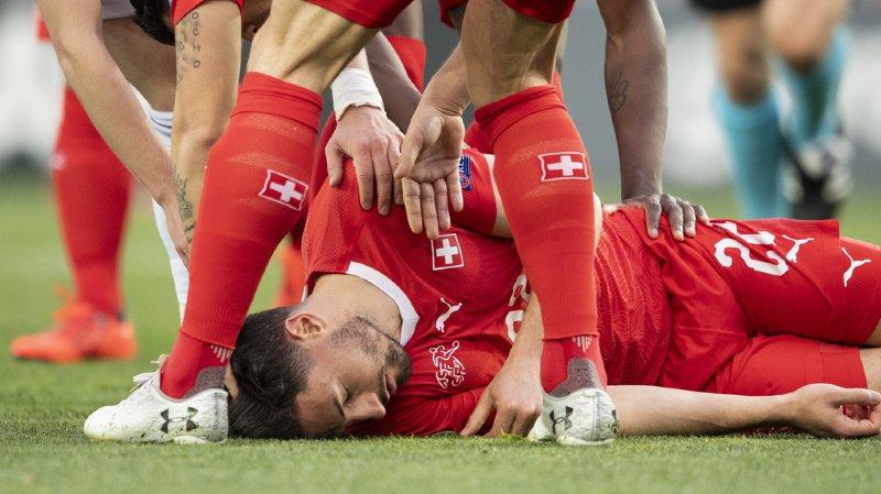 Le joueur de la Nati avait subi un violent choc à la tête contre la Géorgie.