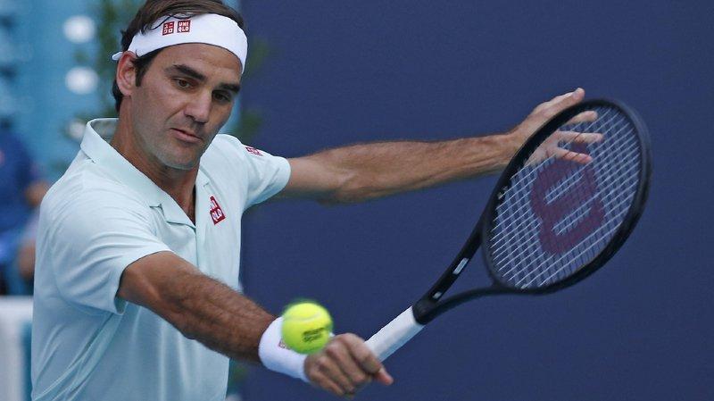 Tennis - Tournoi de Miami: le 8e de finale Federer-Medvedev reporté à cause de la météo