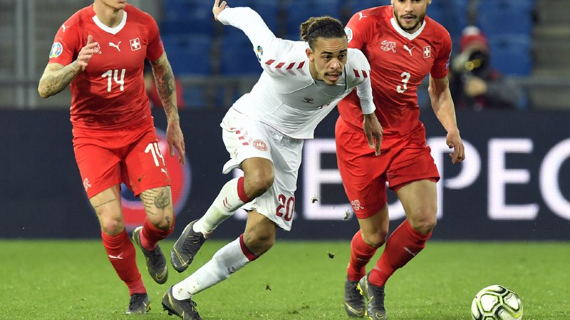 Alors que la Suisse menait 3-0, le Danemark est revenu au nul en une dizaine de minutes seulement.