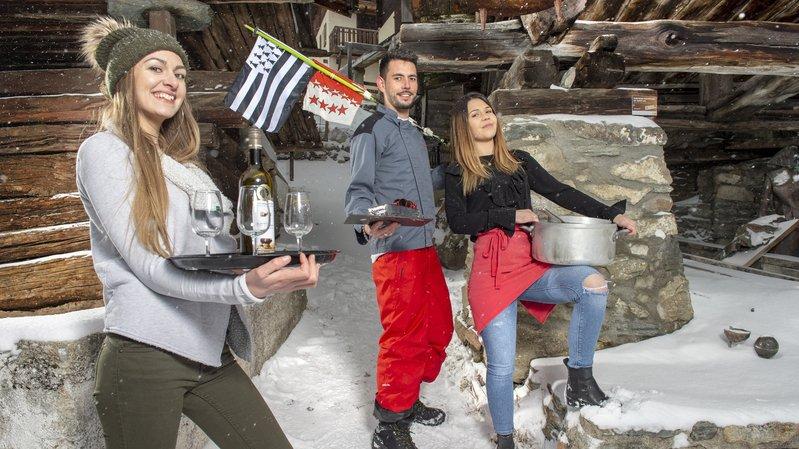 Saint-Luc: liés par le sang, Elisa, Leslie et Vittorio incarnent la filière bretonne