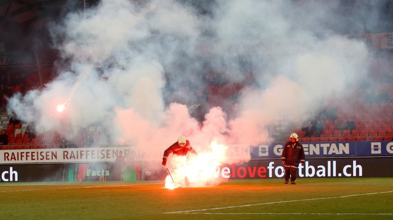 Football: la ville de Sion dépose plainte contre inconnu après les incidents de Sion – Grasshopper