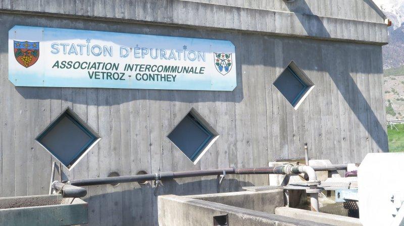 Vétroz-Conthey: la rénovation de la STEP va de l'avant