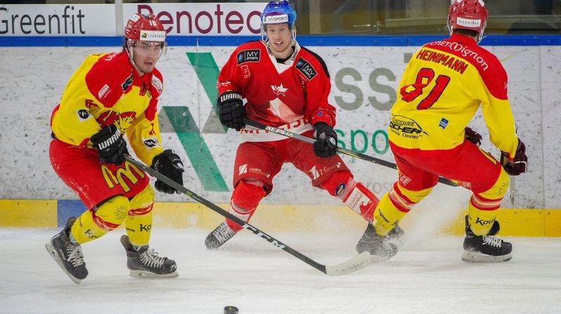 Hockey sur glace: le HCV Martigny prend les commandes