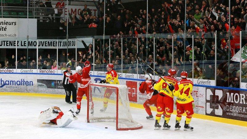 Hockey: le HCV Martigny a poussé Sierre à la faute en provoquant ses erreurs