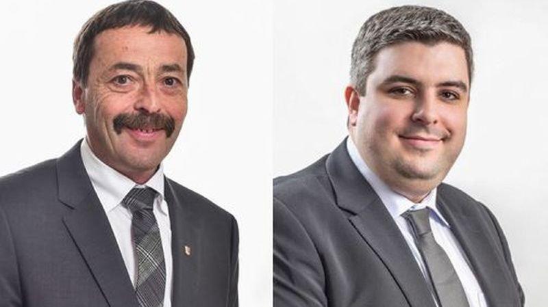 Les députés Charles Clerc et Mikaël Vieux sont candidats pour l'UDC au Conseil national.