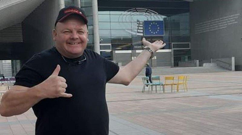 Eddy Baillifard s'est fait l'ambassadeur de la raclette du Valais à Bruxelles