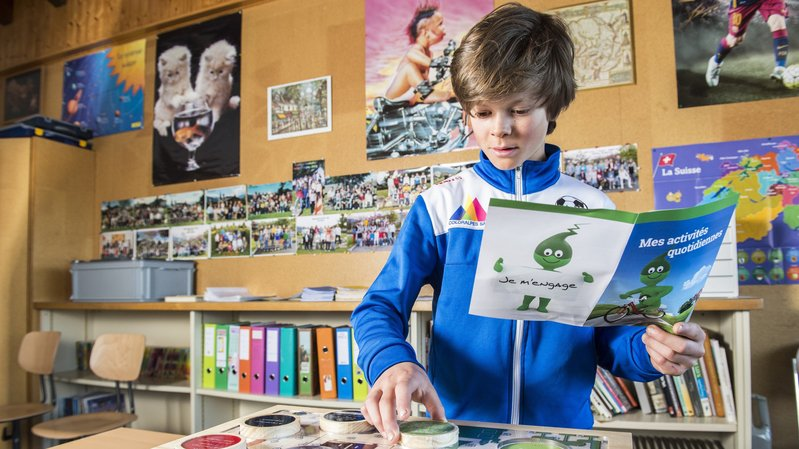 Comme Bastien, à Lens, tous les élèves de 7H bénéficient d'une sensibilisation à l'énergie.