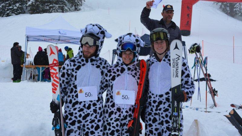 A Bruson, les tenues de ski seront très décontractées lors de l'Infernale.