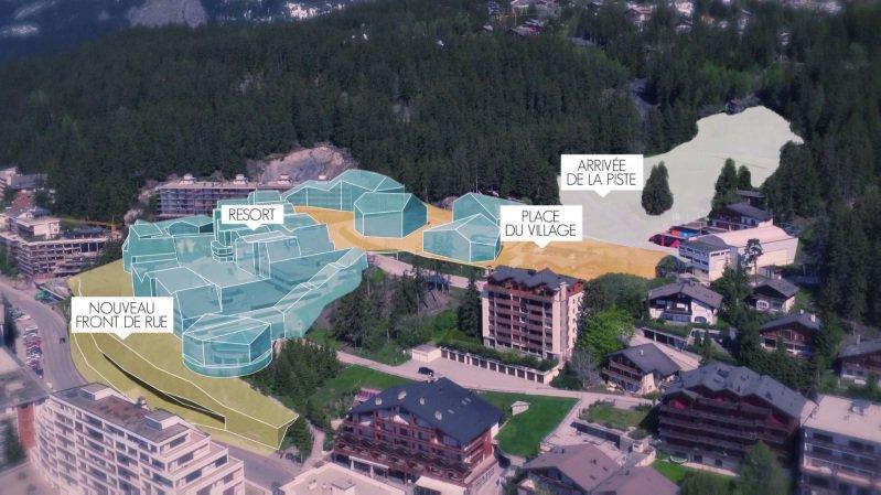 La bourgeoisie de Chermignon a validé le projet hôtelier à 200millions de Radovan Vitek