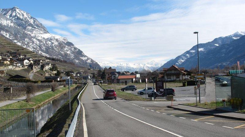 Les travaux de réaménagement de la route cantonale longeant le canal entre Branson et La Louye, sur la commune de Fully, sont prévus entre 2019 et 2022.