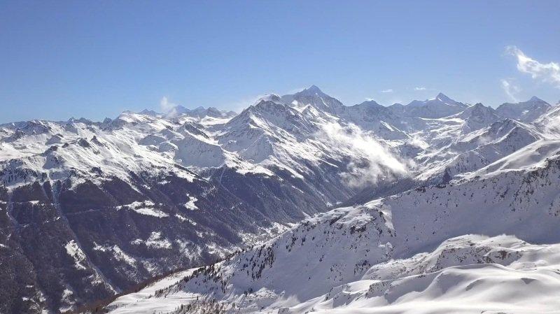«Le Valais depuis les airs»: balade au-dessus de Vercorin