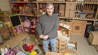 Sion: chapeauté par l'OSEO, le Dé Magique donne une nouvelle vie aux jouets tout en contribuant à la réinsertion professionnelle