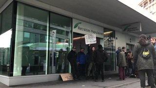 Lausanne: la police déloge les jeunes grévistes entrés dans les Retraites populaires