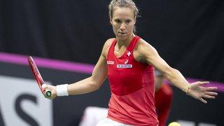 Tennis: Viktorija Golubic rate le coche à Miami