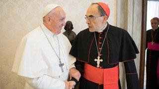 Pédophilie: le pape refuse la démission du cardinal Barbarin condamné pour son silence