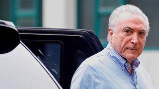 Brésil: l'ex-président Michel Temer arrêté dans le cadre d'une enquête anticorruption