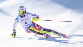 Ski alpin: Loïc Meillard est champion suisse de slalom devant Ramon Zenhäusern et Luca Aerni