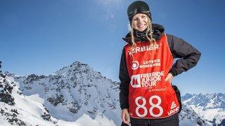 La rideuse de Morgins Marie Bovard sur  la trace des champions