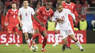Football: la Suisse perd toute son avance en dix minutes