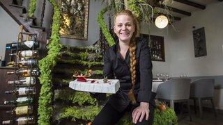 Marie Robert, cheffe du Café Suisse à Bex: «J'ai juste envie de voir jusqu'où je peux aller»