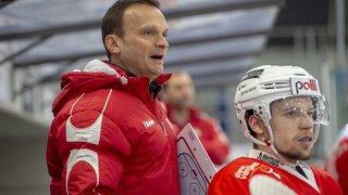 Hockey sur glace: Laurent Perroton, «nous avons moins patiné et plus joué sur notre expérience»