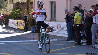 Cyclisme: Antoine Debons fête un premier succès chez les élites au Tessin