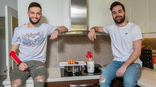 Hockey: Marwan El Assaoui et Nicolas Dozin partagent le même appartement mais pas le même maillot