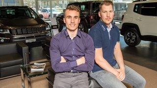 Hockey: Gauthier Girardin et Jimmy Oudelet ont un employeur identique, mais deux maillots différents